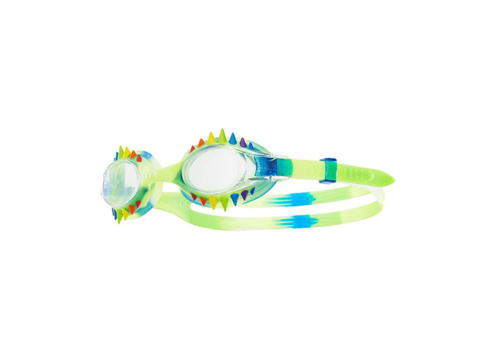 TYR Goggles Swimple TIE DYE Spikes Kids