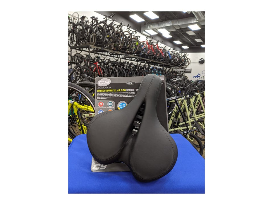 Cloud-9 Cruiser Bike Saddle Black