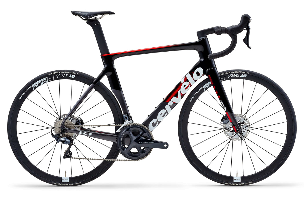 Cervelo S3 Shimano Ultegra Disc - Black/Red 2020