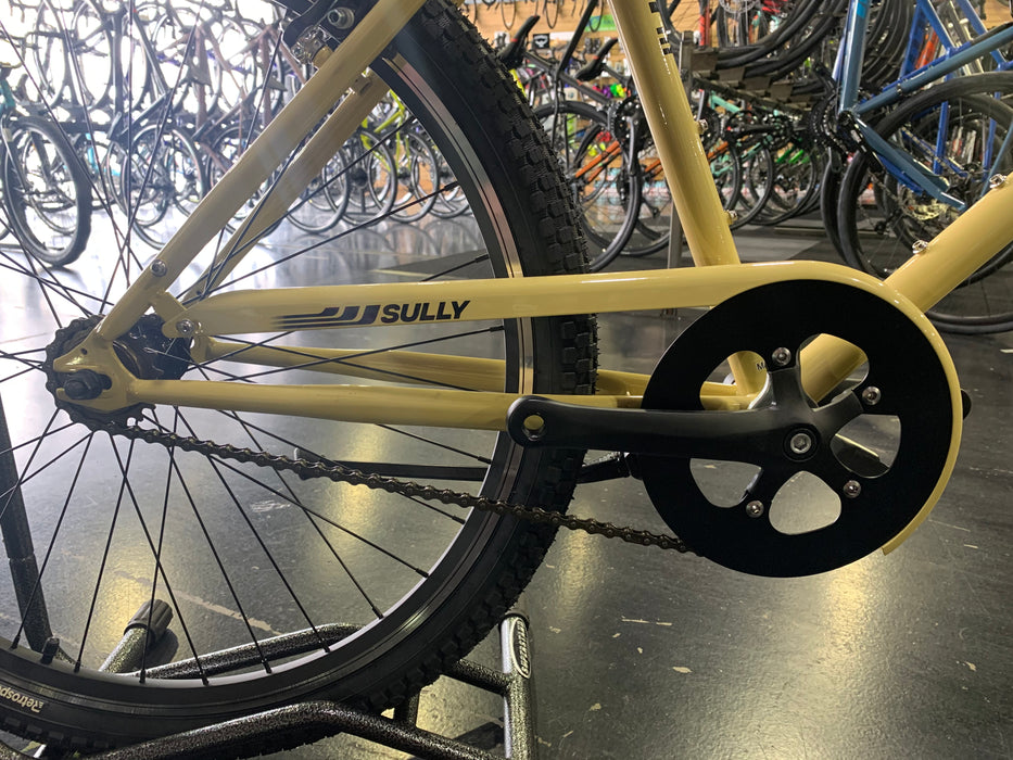 Retrospec Sully Klunker-Style Single-Speed Bike - Desert Sand 2021