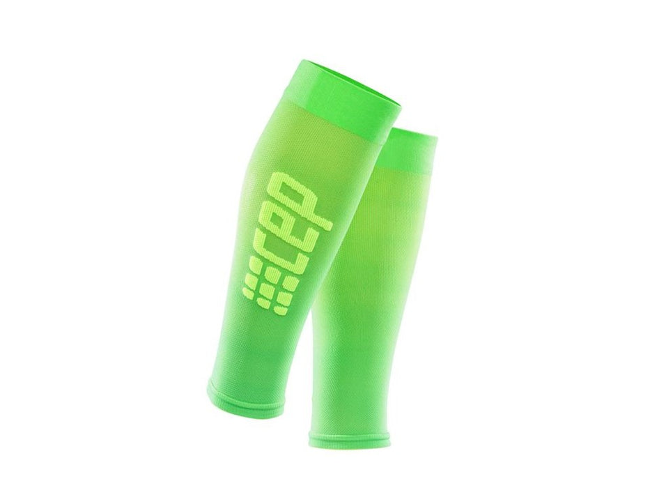 CEP Ultralight RUN+ Compression Sleeves (Viper/Green)