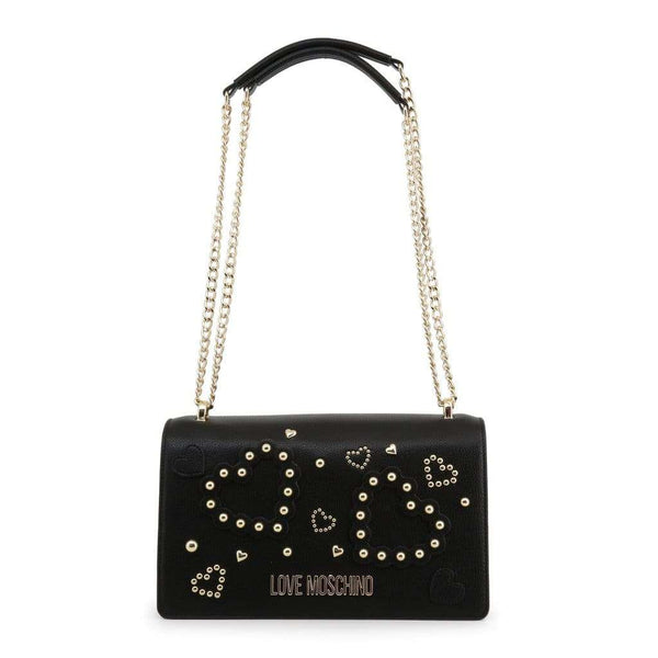 Love Moschino - JC4034PP1ALE - Brand_Love Moschino, Category_Kotid, color_must, gender_naistele,