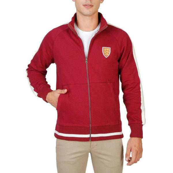 Oxford University - ORIEL-FULLZIP - Brand_Oxford University, Category_Rõivad, color_punane,