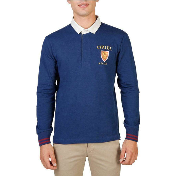 Oxford University - ORIEL-POLO-ML - Brand_Oxford University, Category_Rõivad, color_sinine,