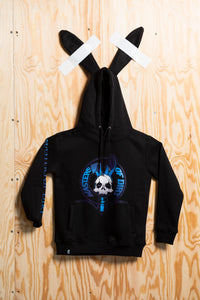 "Kids: Bunny Hoodie ""Iconic Crest"""