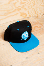 "Load image into Gallery viewer, Baseball Cap: ""Evolution Crest Blue"""