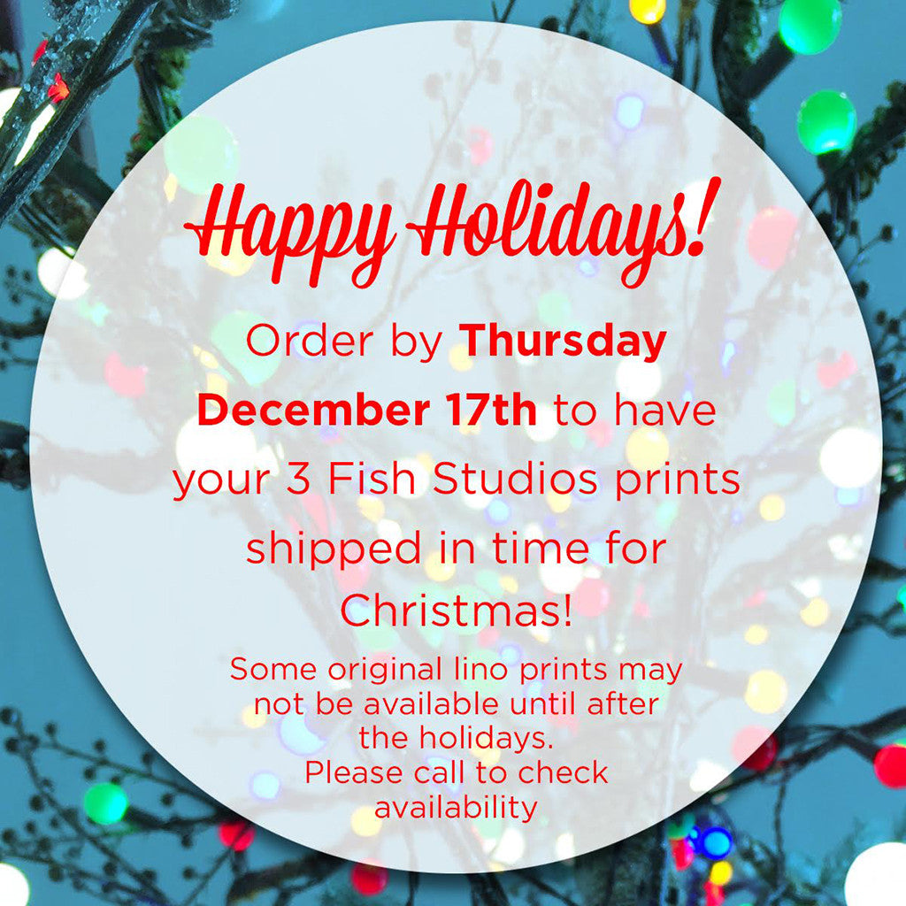 Order Digital Prints Through Thursday, December 17th and Get 'Em by Christmas!