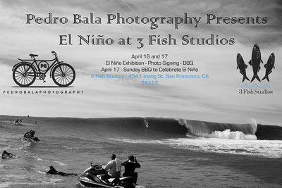 El Niño at 3 Fish Studios with Surf Photographer Pedro Bala