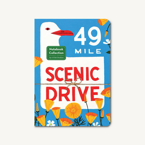 49 Mile Scenic Drive Notebook Set