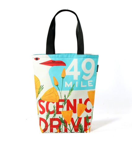 49 Mile Poppy Rickshaw Tote by 3 Fish Studios and Rickshaw Bagworks
