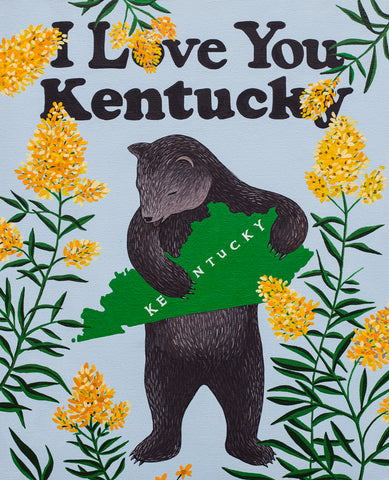 """I Love You Kentucky"" Print"