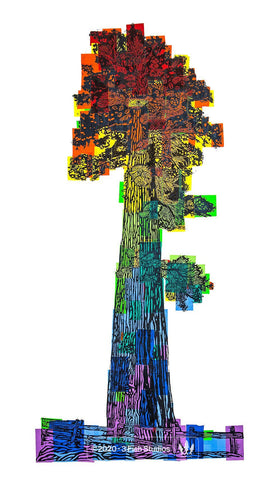 Pride Tree Print by Eric Rewitzer 3 Fish Studios
