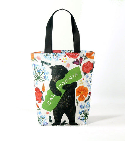 Botany Bear Rickshaw Tote by 3 Fish Studios and Rickshaw Bagworks