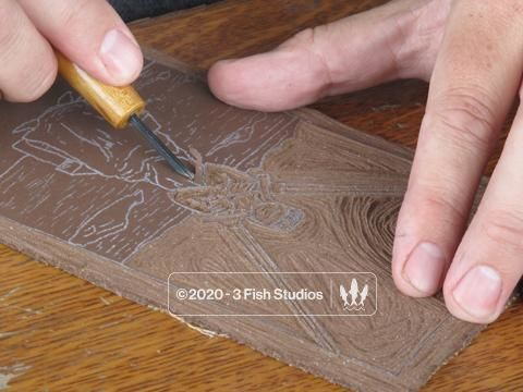 Relief Printmaking with Eric - Thursday December 12th and 19th,  6-9pm