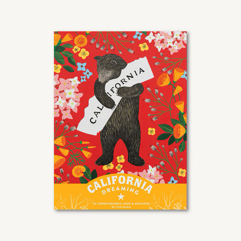 California Dreaming Correspondence Cards