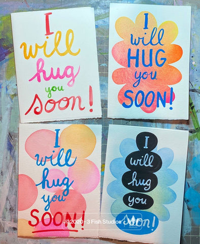 I Will Hug You Soon Card