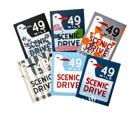 San Francisco Scenic Drive Postcard Set