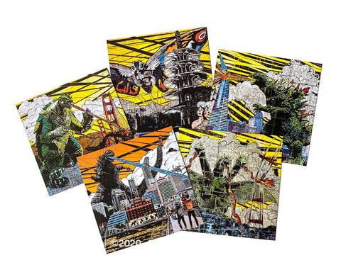 Creature Feature Postcard Set