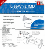 Condom Catheter  GeeWhiz®  Starter Pack for UNKNOWN SIZE- Includes All Condom Catheter Sizes - Geewhiz Condom Catheter