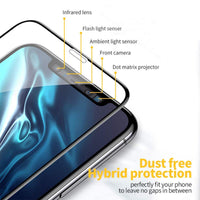 2.5D 9H Clear Protective Tempered Glass Screen Protector