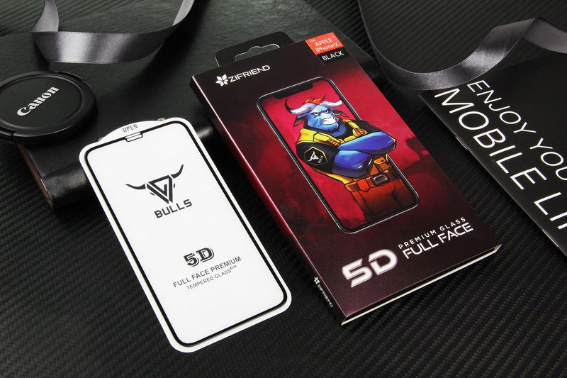 5D Full Glue Tempered Glass Screen Protector zifriend