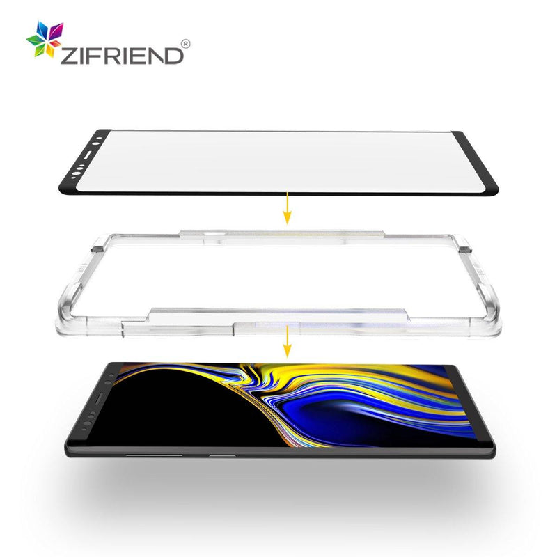 Premium 3D Full Glue Full Cover Tempered Glass with Frame Applicator 3D Full Glue Glass with Applicator zifriend