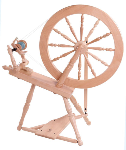 Elizabeth Spinning Wheel 2 Lacquered