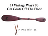 10 Vintage Ways To Get Coats Off The Floor
