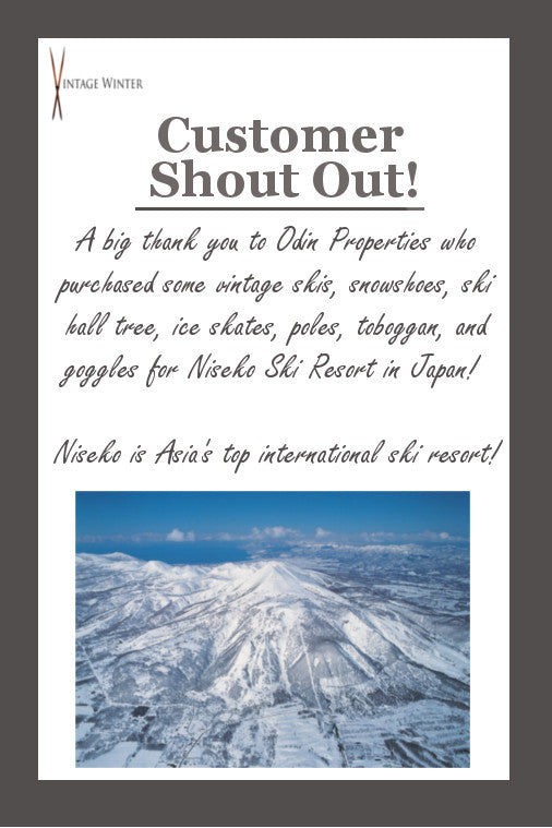 Customer Shout Out: Thank you Odin Properties and Niseko Ski Resort in Japan!