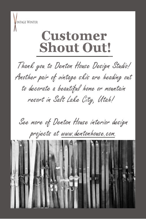 Customer Shout Out : Thank you Denton House Design Studio!