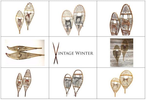 Vintage Winter: Snowshoe History, Shapes and Styles