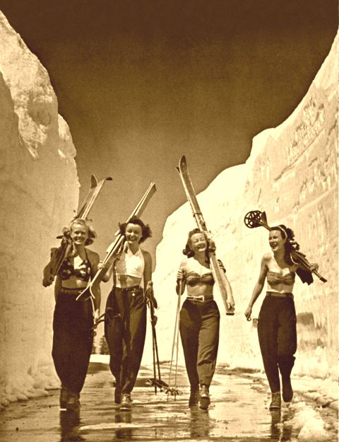 Mt. Lassen Ski Girls.