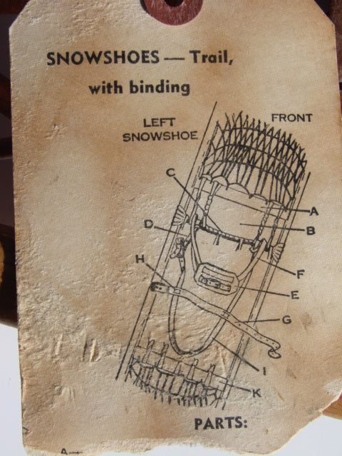 US Military Snowshoes 1953