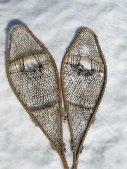 Antique Snowshoes - First Nation