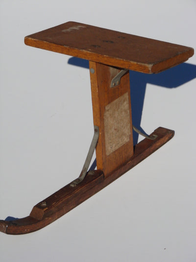 Vintage Wood Sit Sled