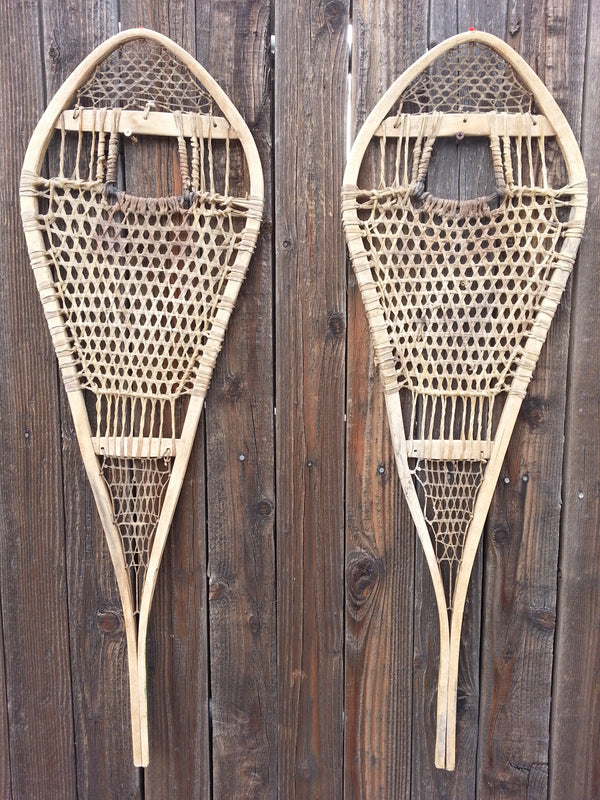Raquettes Vintage Canadian Racing Snowshoes