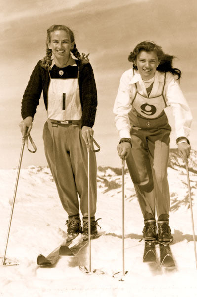 Vintage Ski Photo - 1948 Woman's Ski Team