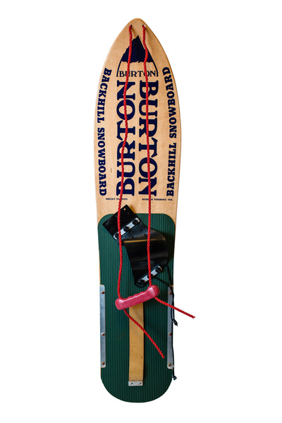 Vintage 1981 Burton Backhill Snowboard 1 of 12