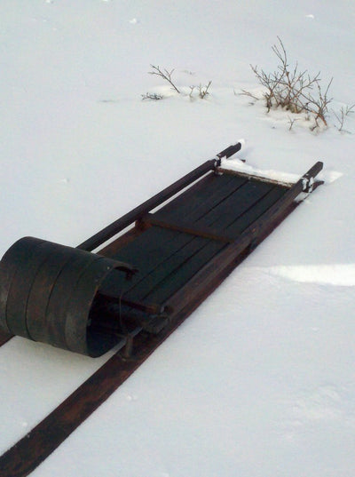 Steerable Ski Toboggan
