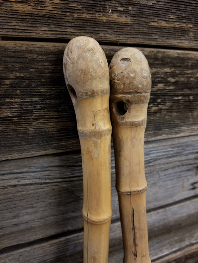Antique Wooden Ski Poles