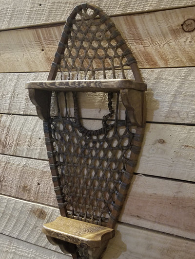 Vintage Snowshoe Shelf - Single