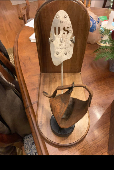 Antique  Klipper Klub Ice Skates - Wood with Cast Steel Blades