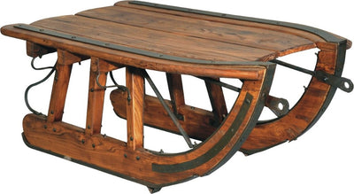 Logging Sled Coffee Table