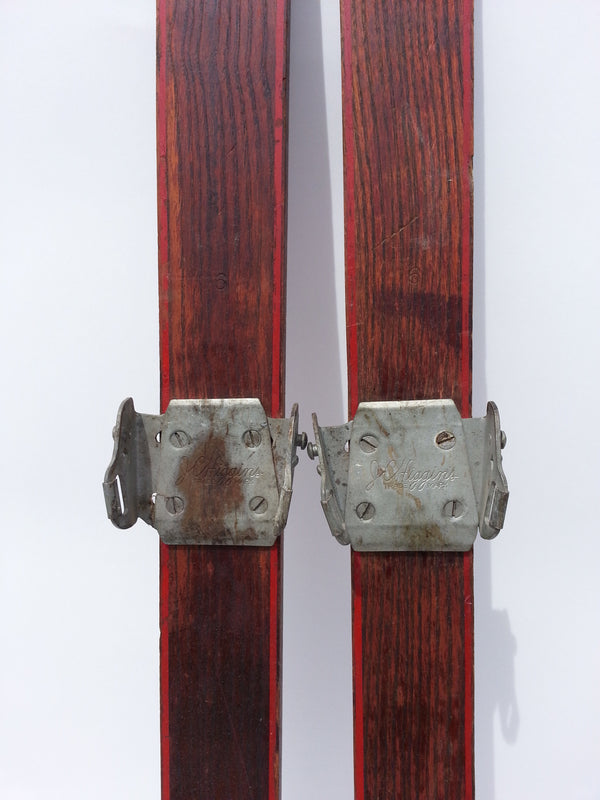 Antique Sears brand JC Higgins Wood Skis