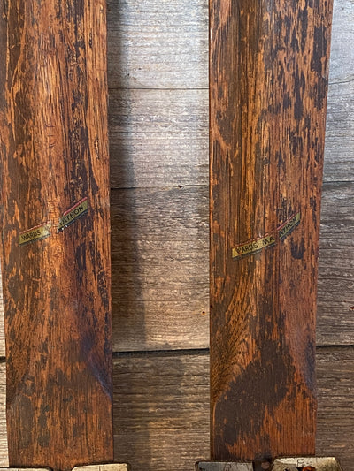 1930s Antique Ridgetop Skis