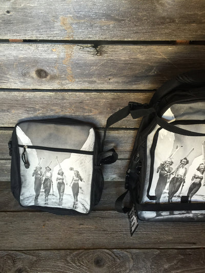 Rolling bag - Vintage Ski Ladies