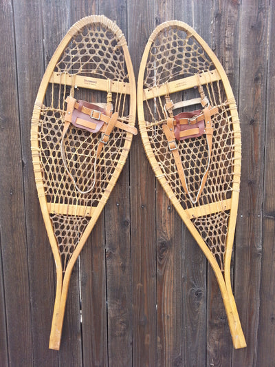 Browning Vintage Wooden Snowshoes - Canada