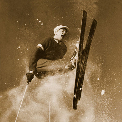 Vintage Ski Photo - Roelsprung