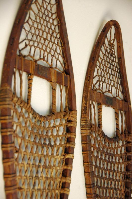 Ice Skates For Sale >> Vintage Abercrombie and Fitch Co. Snowshoes - VintageWinter