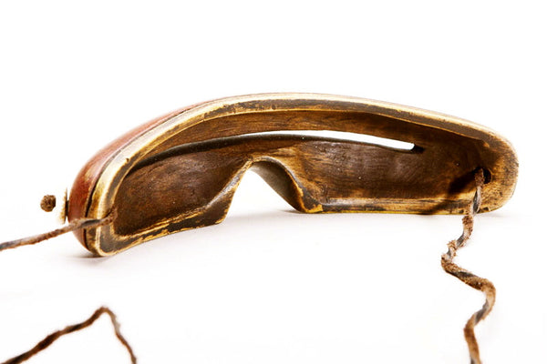 "Antique Inuit ""Eskimo"" Snow Goggles"